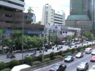 Awesome view of Bangkok city
