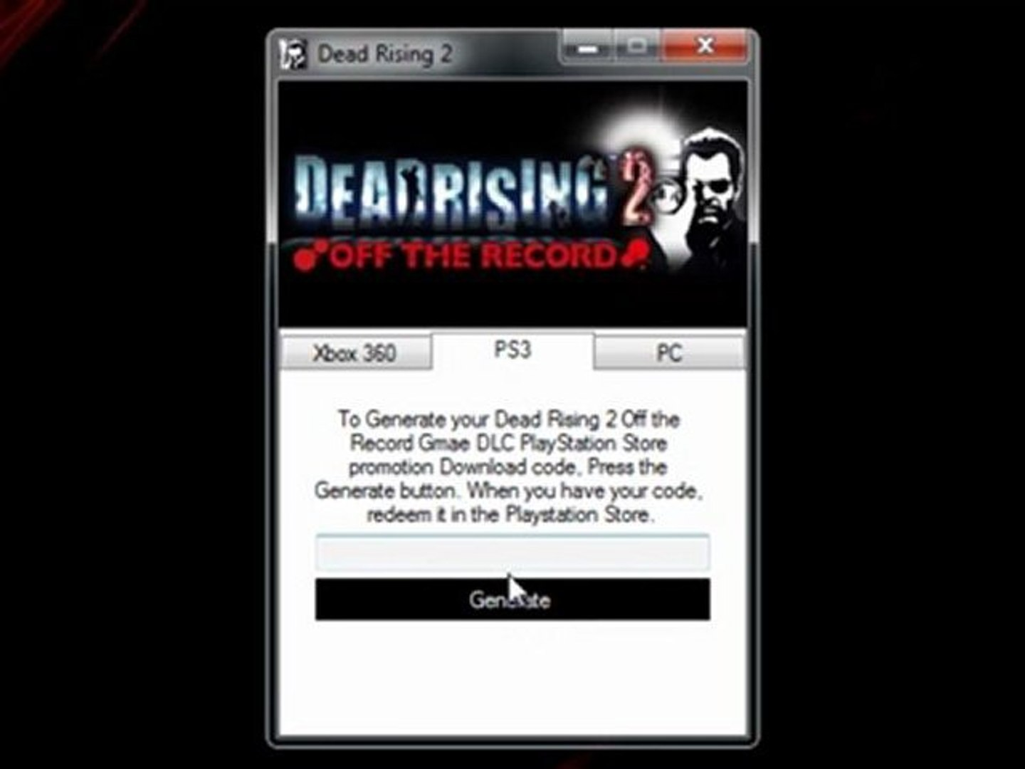 How To Install Dead Rising 2 Off The Record Game Free On Xbox 360