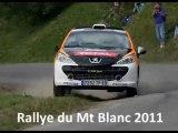 Maxence Bardou - Rallye du Mt Blanc 2011