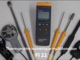 Thermomètre numérique multifonction - FI 22