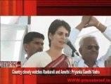 Country closely watches Raebareli and Amethi - Priyanka Gandhi Vadra