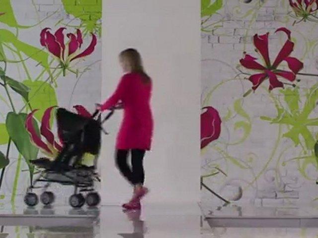 OBaby Atlas Sport Stroller – Black / Lime – Kiddicare