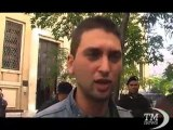 Indignati a Napoli, sit-in a Bankitalia: guardiamo a Roma. Cori e striscioni dei 'Draghi ribelli' in via Cervantes