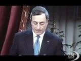 """Bankitalia, Draghi: """"Quando il Sud cresceva più dell'Italia"""". Per il governatore Mezzogiorno può superare arretratezza"""