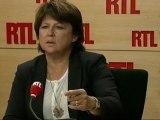 """Martine Aubry, maire de Lille, candidate à la primaire socialiste : """"Quand c'est flou, il y a un loup !"""""""