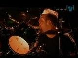 Master of Puppets, live @ Big Day Out 2004   (quelques petites fautes de James sur le 1er solo, mais comme lui, mieux vaut en rigoler)