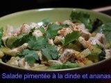 Salade pimentée à la dinde et ananas - 750 Grammes