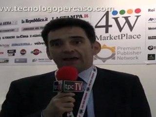 IAB Forum 2011 intervista a Carlo Tedeschi Polmonari 4W MarketPlace