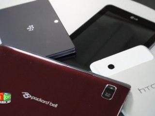 Prise en main des tablettes tactiles BlackBerry PlayBook, HTC Flyer, LG Optimus Pad et Packard Bell Liberty Tab