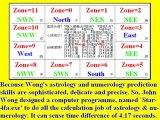 1.Wong's Astrology & Numerology: Decoding Massive Destructions & Barack Hussein Obama