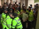 OCCUPY LONDON: Protesters stand against corporate greed
