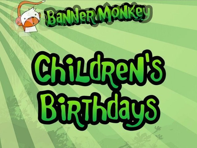 Children's Birthday Banners – Create Personalised Party Banners Online with Banner Monkey