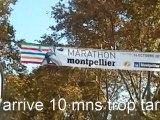 Marathon Montpellier 2011 BAHLA SADIK vainqueur