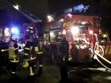 Un appartement ravagé par les flammes à Boulogne-sur-Mer (Pas-de-Calais)