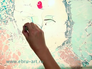 Эбру. Турецкое искусство мраморирования (Ebru, Turkish marbling art)