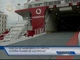 Puertos se paran en Grecia