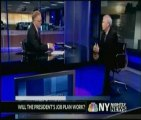 Mike Ryan, SVP of Madison Performance Group Discusses September Jobs Report on WNBC's New York Nightly News