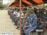 Fin de la formation des élèves gendarmes