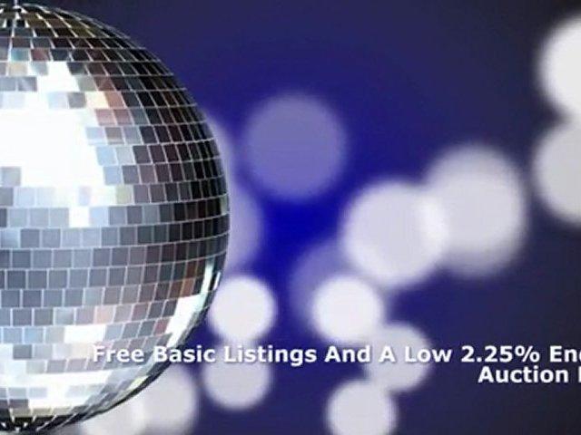 Auction website, online trading website