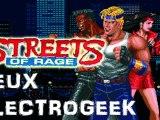 """Jeux Electrogeek 91 test """"Streets of Rage"""""""