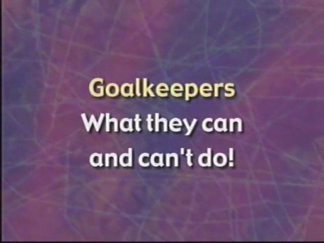 US Soccer Referee Resource Video – Goalkeeper