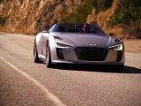 Audi e-tron Spyder, la voiture de sport électrique la plus rapide