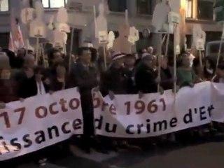Commémoration des 50 ans du 17 octobre 1961 à Paris