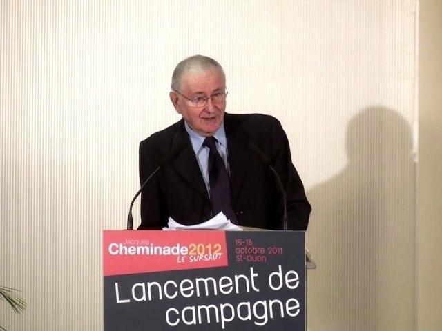 Cheminade2012 - discours de lancement de campagne