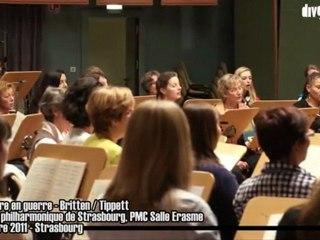 L'Angleterre en guerre - Britten/Tippet, Orchestre Philharmonique de Strasbourg, 10 novembre 2011