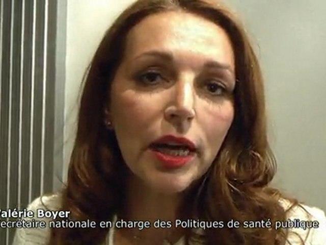 UMP - Valérie Boyer - Convention sur le programme du PS