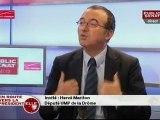 """Hervé Mariton : invité de l'émission """"En route vers la présidentielle"""""""