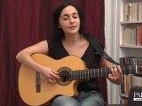 Ma Sarah chante Consolation / session acoustique pour Pousse le son!