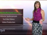 Video Spokesperson - By Website Actor Live