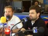 Loïc Fequet et Loïc Escoffier sur France Bleu Haute-Normandie pour la Transat Jacques Vabre