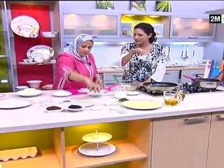 Choumicha Recettes - Harcha à la menthe et Meloui aux légumes