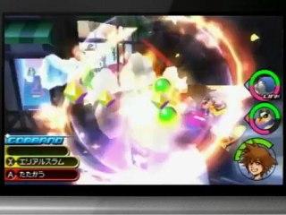 Gameplay conférence Nintendo Direct de Kingdom Hearts : Dream Drop Distance
