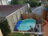 kit piscine octogonale semi enterree