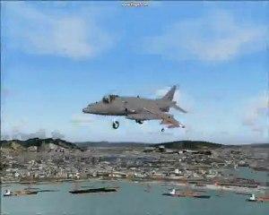 Harrier ii validating v stol fighter