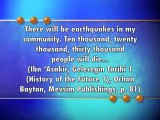 The 8.9 earthquake that hit Japan is one of the portents of the coming of Hazrat Mahdi (pbuh)