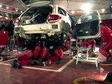 Citroën Racing - WRC 2011 - Rally espagne 2011 - SERVICE 75' Vendredi