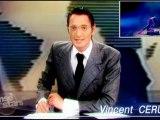 """Vincent Cerutti et Sandrine Quetier en mode années 80 pour """"Danse avec Les Stars"""""""