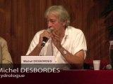 Présentation de Michel Desbordes, Hydrologue