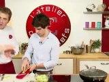 Cours Live de l'atelier des chefs du 25 octobre : Charlotte de saumon frais et Tartare Ail et Fines Herbes, coulis de betteraves acidulé