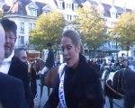 Les candidats à l'élection de Miss Picardie 2011 défilent à Beauvais