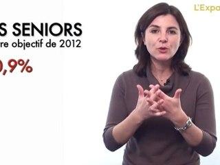 L'emploi des seniors, autre enjeu de 2012