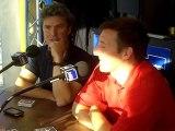 Christophe Coatnoan et Etienne Laforgue, invités de France Bleu avant le départ de la Transat Jacques Vabre 2011