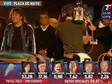 El baile de la victoria de Cristina Kirchner