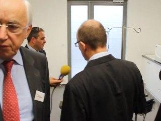 Xavier Bertrand inaugure la Maison pluridisciplinaire de santé de Retiers (35)