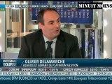 Olivier Delamarche - Vers 10 ans de dépression économique - 25/10/2011 - BFM Business -  25 octobre 2011