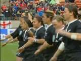 New Zealand 'Black Ferns' haka — 2006 women's World Cup